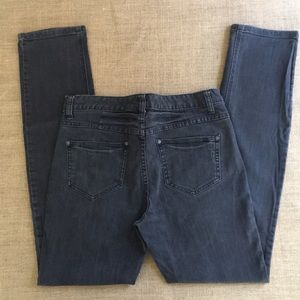 Free People straight cut jeans in black size 29